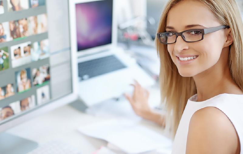 La mujer profesional en el trabajo